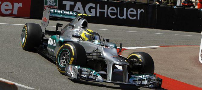 Nico Rosberg en Mónaco