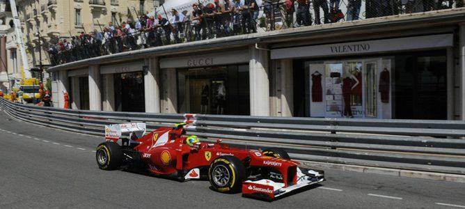 Felipe Massa en Mónaco 2012