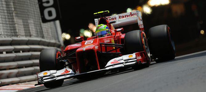 Felipe Massa en Mónaco