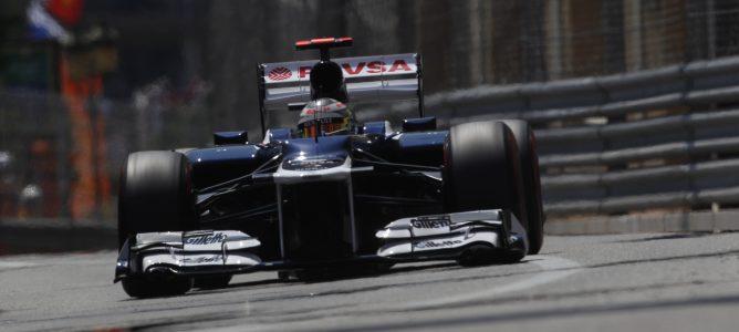 Pastor Maldonado en Mónaco