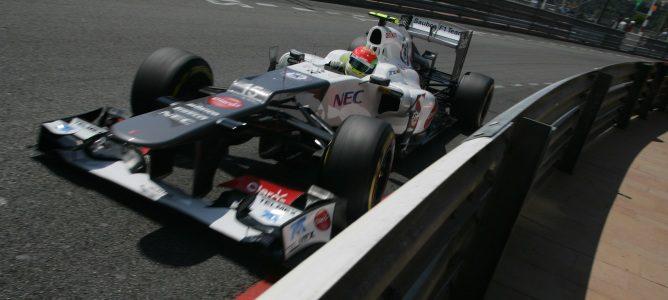 Sergio Pérez perderá cinco puestos en Mónaco por cambiar la caja de cambios