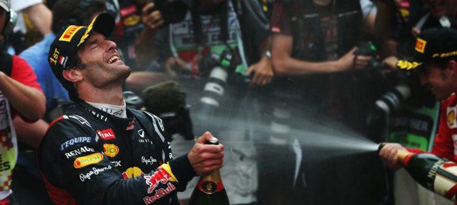 Mark Webber gana en Mónaco 2012