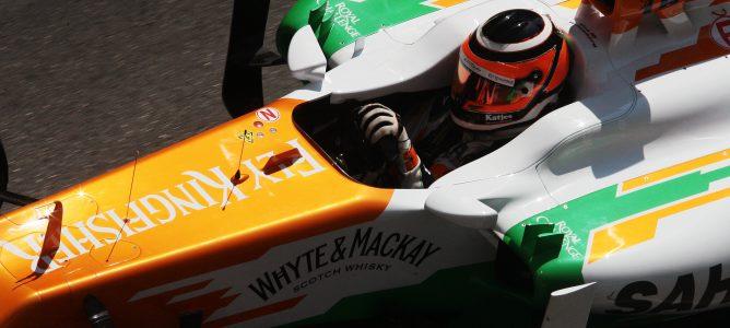 Nico Hülkenberg en el GP de Mónaco