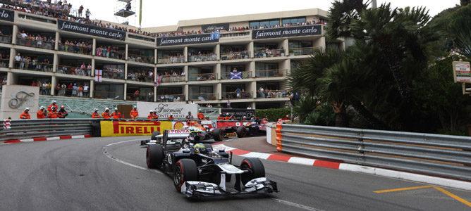 Bruno Senna en Mónaco