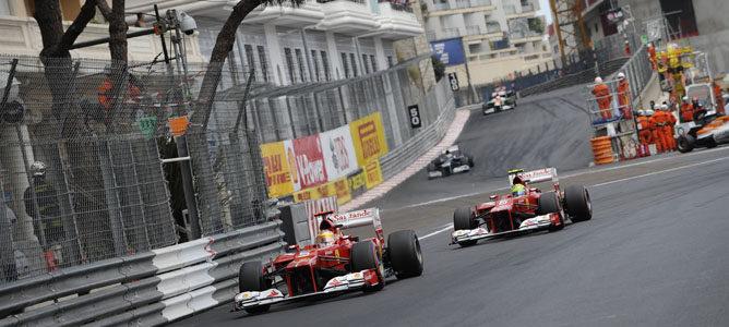 Ferrari consiguió un buen resultado y Felipe Massa lideró el Gran Premio