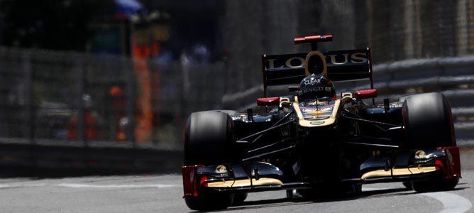 Un Lotus sobre el asfalto de Montecarlo