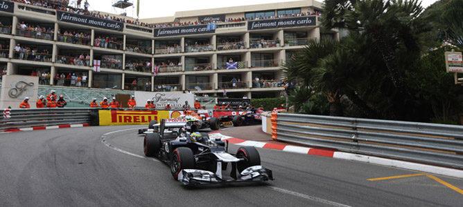 Un Williams sobre el asfalto de Montecarlo