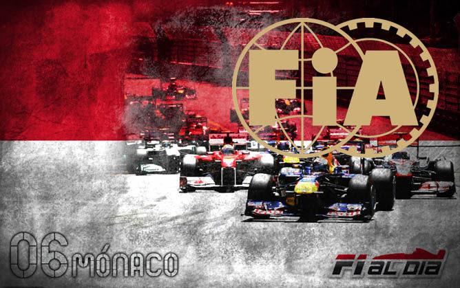 Cartel anunciador el GP de Mónaco
