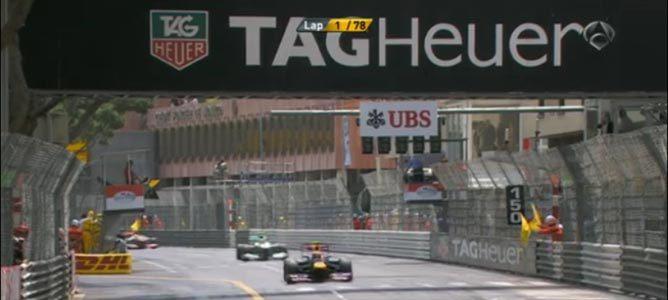 Primera vuelta del GP de Mónaco