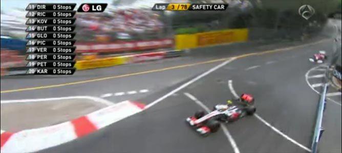 Tercera vuelta del GP de Mónaco