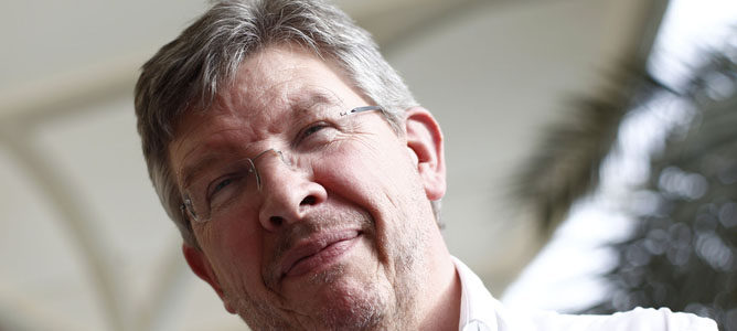 Ross Brawn Jefe del Equipo Mercedes