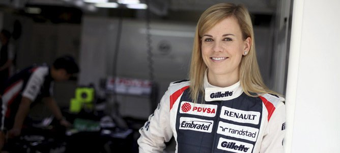 Susie Wolff, piloto de desarrollo de Williams