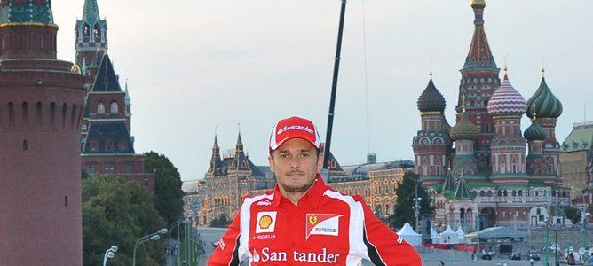 Giancarlo Fisichella en Rusia