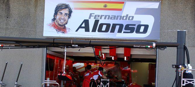 Fernando Alonso en Canadá 2012