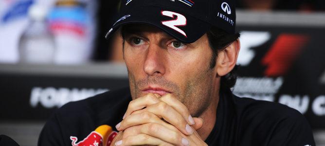 Mark Webber rueda de prensa FIA del GP de canadá 2011