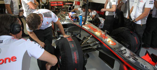 Jenson Button en Canadá