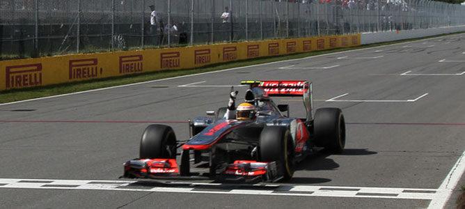 El McLaren entra ganador en el GP de Canadá