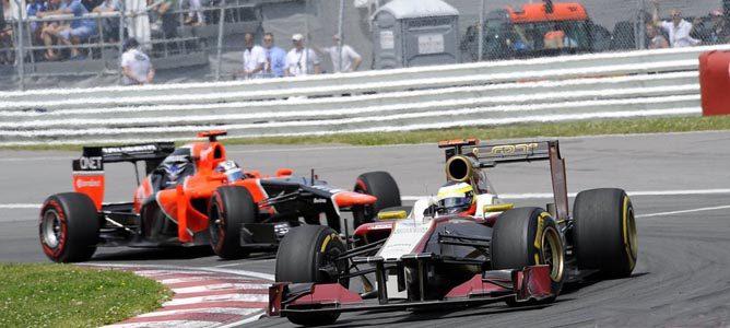 Un HRT en el GP de Canadá
