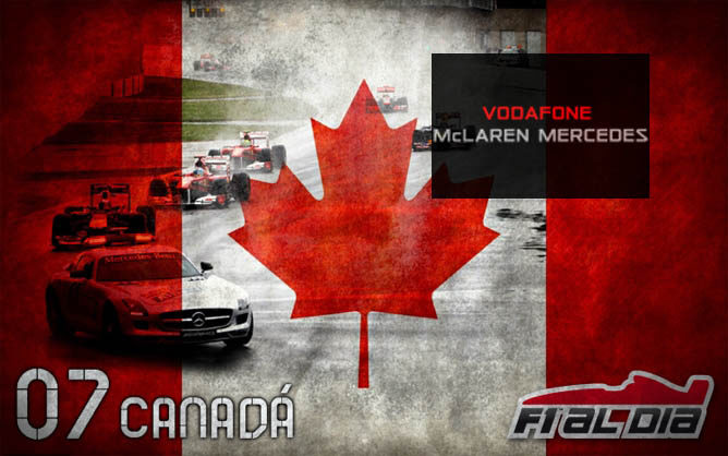 Cartel anunciador del GP de Canadá