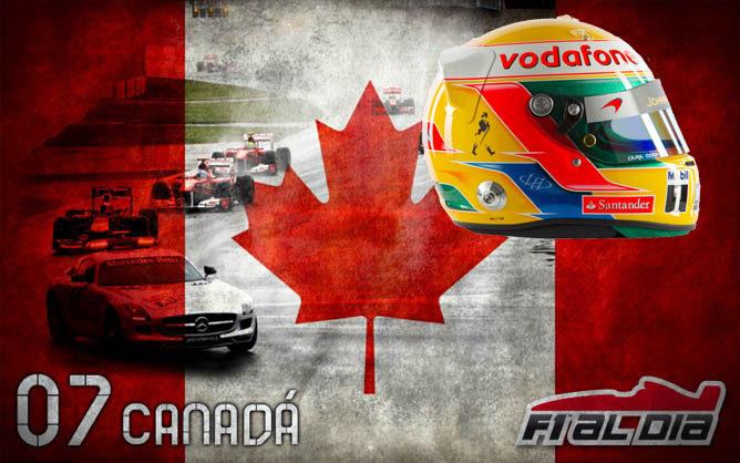 Cartel anunciador del GP de Canadá de F1