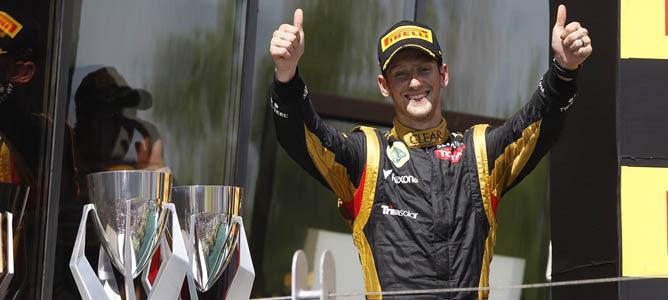 Romain Grosjean en el circuito urbano de Montreal