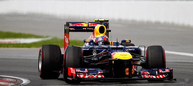 Mark Webber en el circuito urbano de Montreal