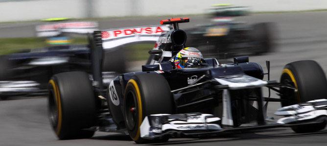 Pastor Maldonado en el circuito urbano de Montreal