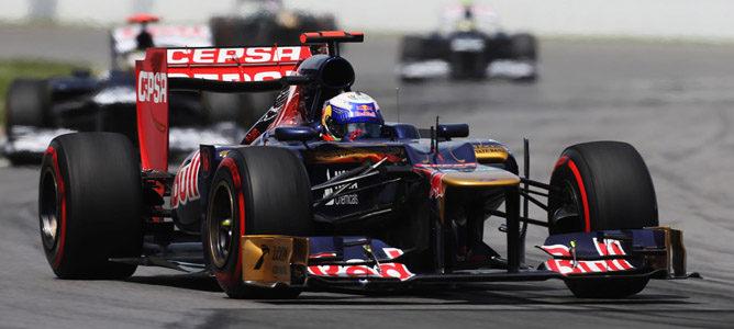 Daniel Ricciardo en el circuito urbano de Montreal