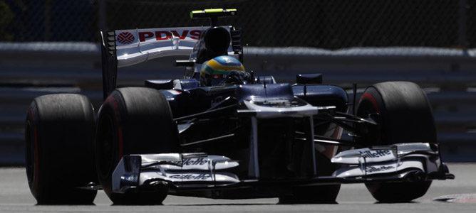Bruno Senna en el circuito urbano de Montreal