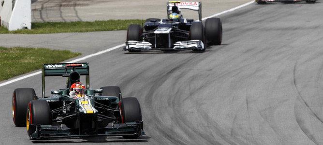 Heikki Kovalainen en el circuito urbano de Montreal
