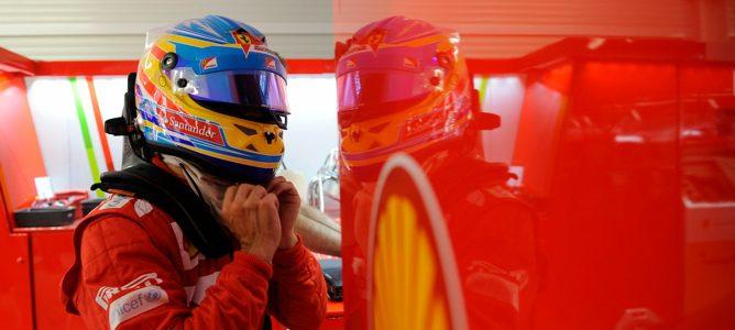 Fernando Alonso en Valencia