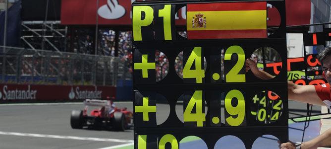 Fernando Alonso ganó en Valencia