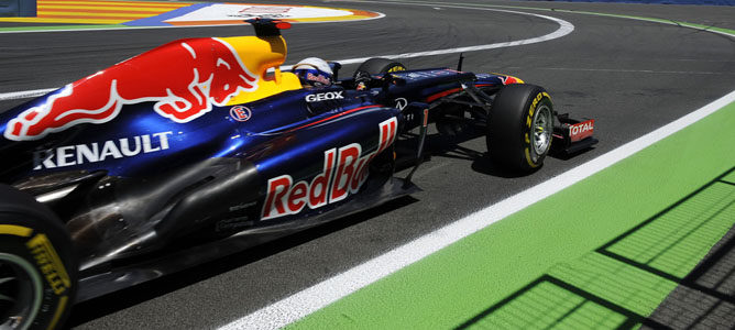 Un Red Bull por las calles de Valencia