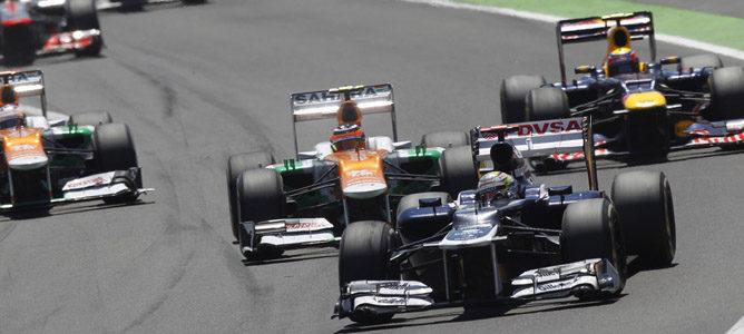 Un Williams por las calles de Valencia