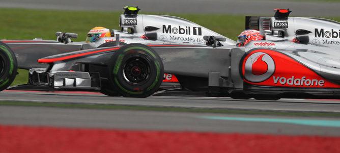 McLaren y Lewis Hamilton, los que más adelantan en 2012
