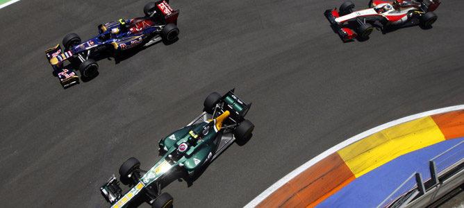 En el GP de Europa 2012 se batió el récord de adelantamientos en el Valencia Street Circuit