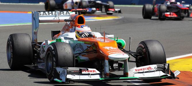 Paul di Resta en el GP de Europa 2012