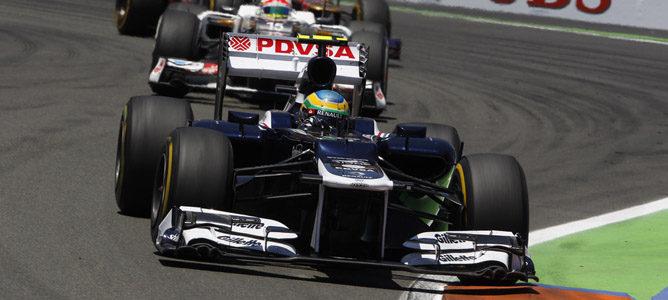Bruno Senna en el GP de Europa 2012