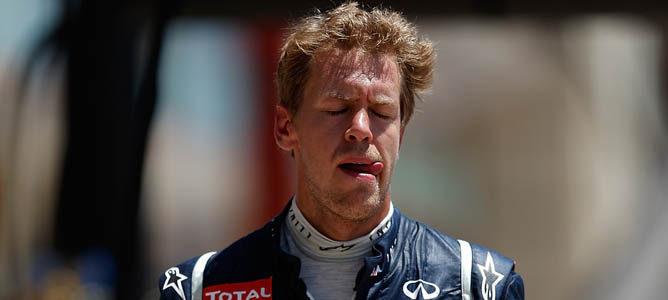 Sebastian Vettel en el GP de Europa 2012