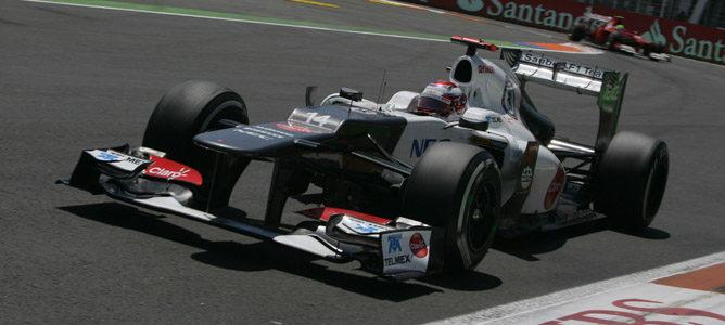 Kamui Kobayashi en el GP de Europa 2012