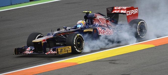 Jean-Eric Vergne en el GP de Europa 2012