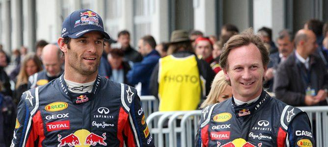 Sebastian Vettel en la rueda de prensa
