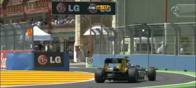 Maniobra entre Ricciardo y Petrov