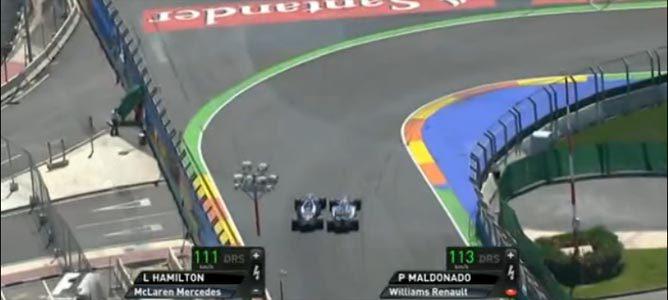 El incidente entre Maldonado y Hamilton