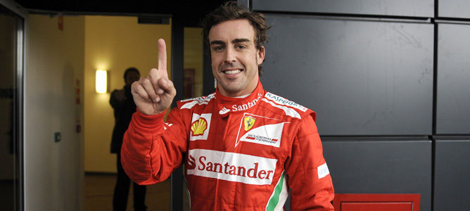 Fernando Alonso logra la pole en Silverstone 2012