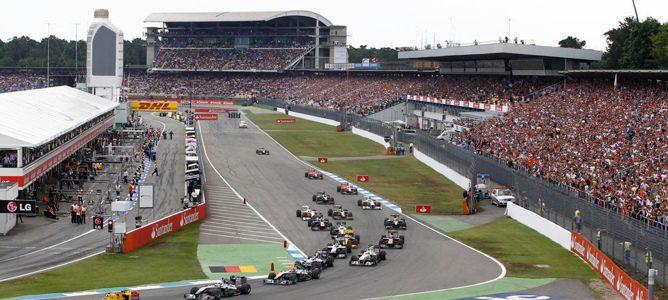 estadio del GP Alemania 2012