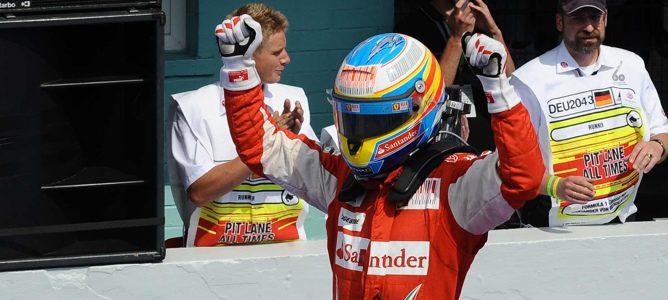 Alonso gana el GP Alemania 2010