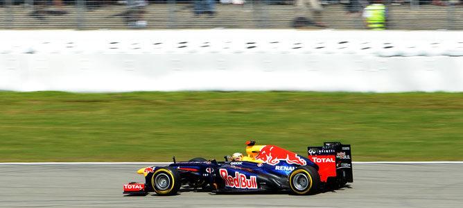 Sebastian Vettel durante el GP de Alemania