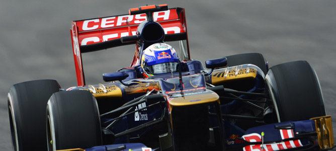 Un Toro Rosso en el circuito de Hockenheim