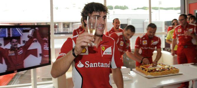 cumpleaños Fernando Alonso Hungría
